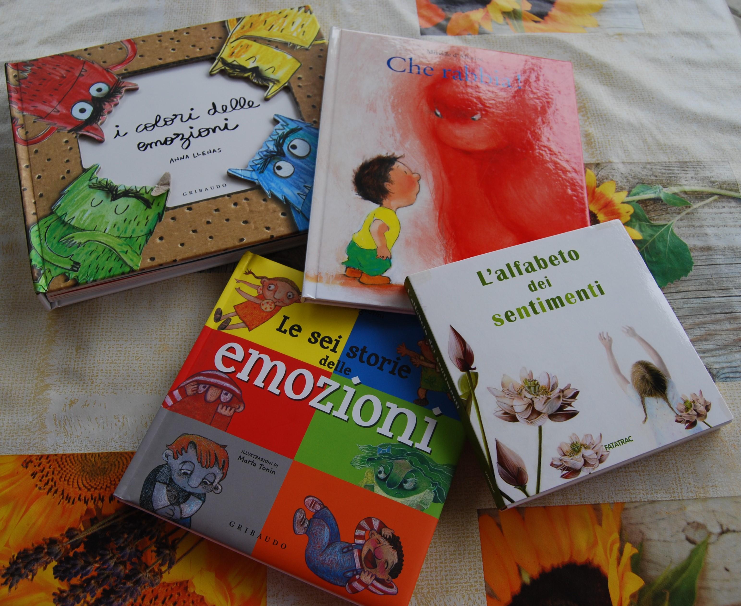 Quattro libri per raccontare le emozioni dai 2 ai 99 anni