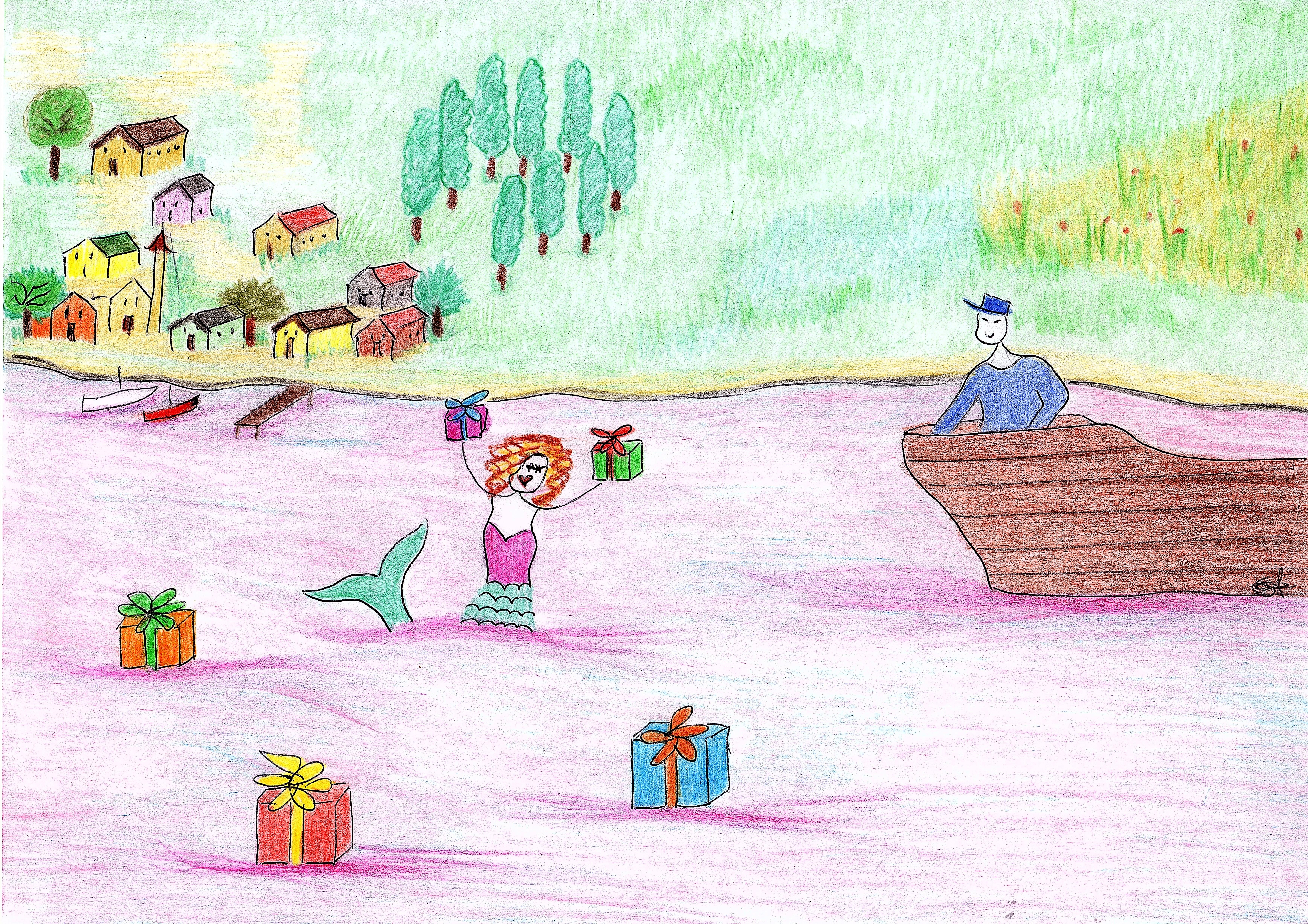 La sirena del lago Magia susanna albini