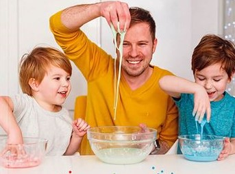 the dad lab esprimenti bambini Erickson
